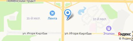 Kia Motors на карте Сургута