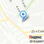 Мегарос на карте Омска