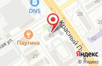 Схема проезда до компании Архитектурная Мастерская «Градъ» в Омске