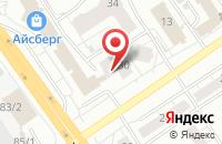 Схема проезда до компании Компания  в Омске