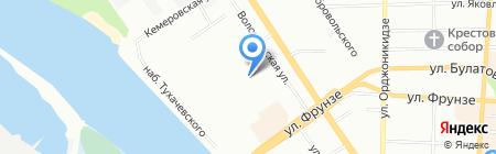 Адриатика-тур на карте Омска