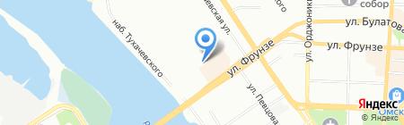 Легпром на карте Омска