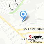 Виктория-Мебель на карте Омска