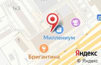Схема проезда до компании Ва-Банк Тв в Омске