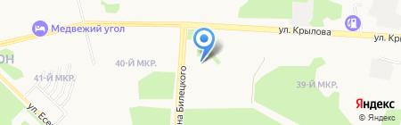 Детский сад №18 на карте Сургута
