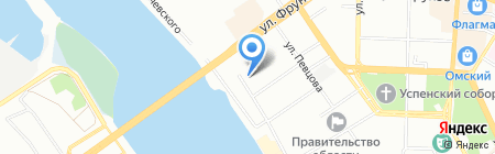 СтройГрадОмск на карте Омска