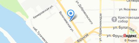 Евросеть на карте Омска
