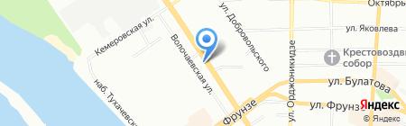 Ломбард на карте Омска