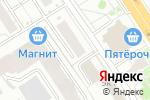 Схема проезда до компании Магазин авточехлов в Омске
