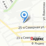 МебельМаркет на карте Омска