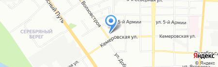 Bonita на карте Омска