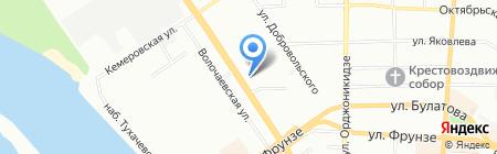 Александра на карте Омска