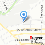 АЛЕСЯ на карте Омска