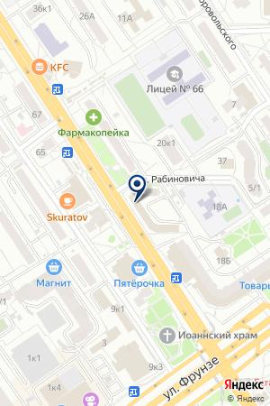 ПРОИЗВОДСТВЕННАЯ ФИРМА ГАРАНТИЯ + на карте Омска