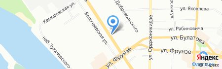 УФМС на карте Омска