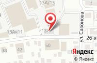 Схема проезда до компании Диск-Ленд в Омске