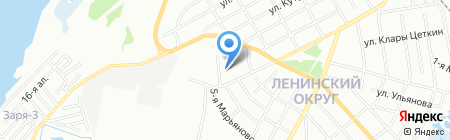 Детский сад №396 на карте Омска
