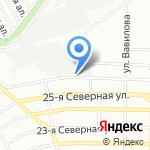 Микс Плюс на карте Омска