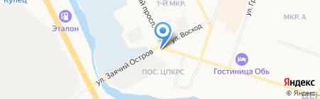 Галерея кино на карте Сургута