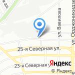 Мебельная фабрика №3 на карте Омска
