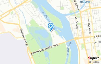Местоположение на карте пункта техосмотра по адресу г Омск, ул 3-я Островская, д 9