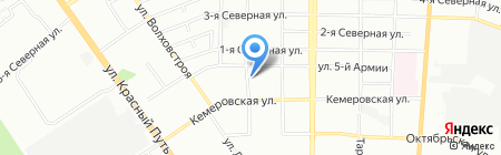 Атмосфера на карте Омска