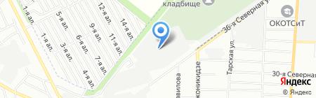 ЕвроБир на карте Омска