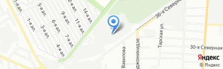 Мастер Новодел на карте Омска