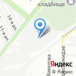 Перфо-Омск на карте Омска