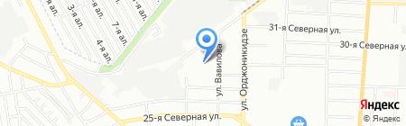 Центральный-7 на карте Омска