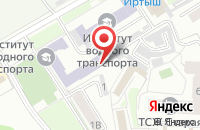 Схема проезда до компании Экслибрис в Омске