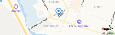 Бюро Технической Инвентаризации на карте Сургута