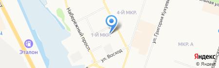 ВОА на карте Сургута