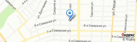 Проектные технологии на карте Омска