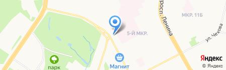 Детская поликлиника на карте Сургута
