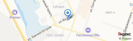 Общественная приемная депутата Думы г. Сургута Бондаренко С.А. на карте Сургута