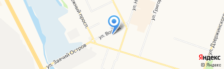 Общественная приемная депутата Думы г. Сургута Скоробогатова Э.Е. на карте Сургута