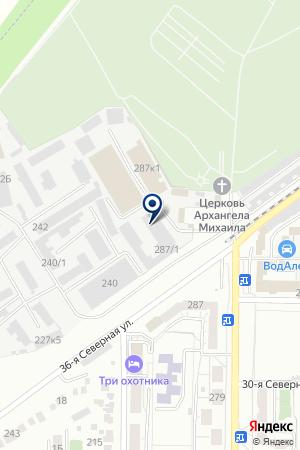 ПРОИЗВОДСТВЕННАЯ ФИРМА ДЕВЯНИН В.П. на карте Омска