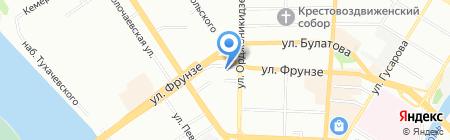 Авилон на карте Омска
