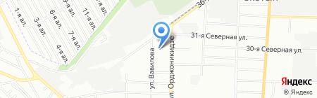 Детский сад №134 на карте Омска