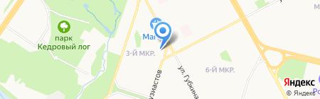 Авторская студия машинной вышивки на карте Сургута