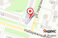 Схема проезда до компании Работающая Молодежь Города Сургута в Сургуте