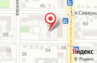 Схема проезда до компании Шерл-Авто в Омске