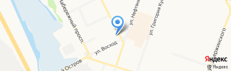 Алсу на карте Сургута
