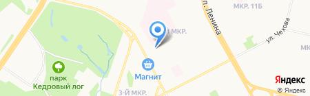 Аптека готовых лекарственных форм на карте Сургута