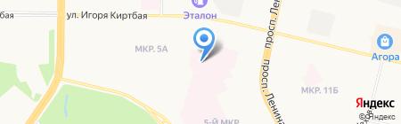 Центр диагностики и сердечно-сосудистой хирургии на карте Сургута