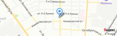 Бланки на карте Омска