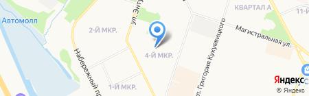Экспресс-стоматология-3 на карте Сургута