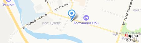Романтика на карте Сургута