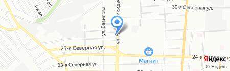 Форэст на карте Омска